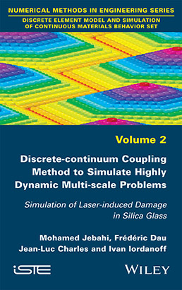 Discrete-continuum Coupling Method to Simulate Highly Dynamic Multi-scale Problems