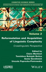 Reformulation and Acquisition of Linguistic Complexity