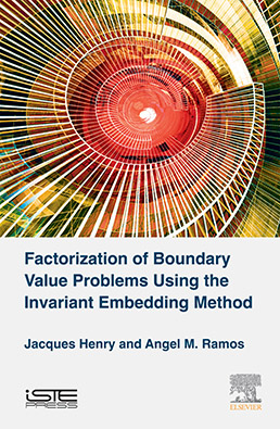 Factorization of Boundary Value Problems Using the Invariant Embedding Method